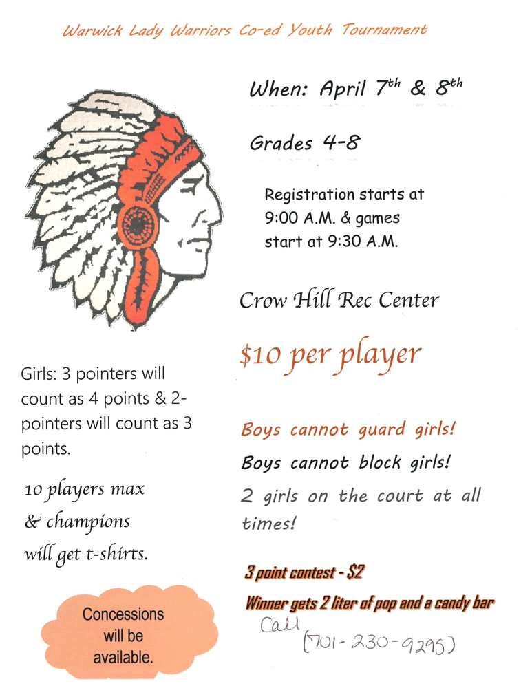 Lady Warriors' Co-ed Youth Tournament